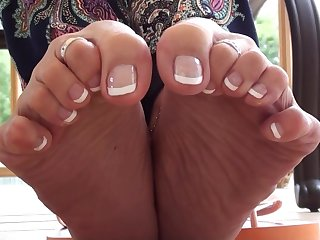 Toes Close up