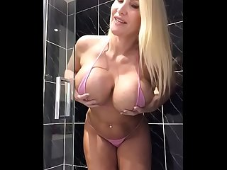 Sophie James - Dirty Shower Play!