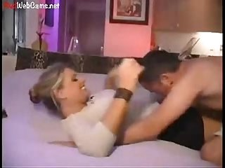 Porn Star Vicky Vette fucking hard with a handsome man