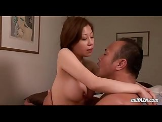 Busty Milf Licked Riding On Husband Cock On The Bed