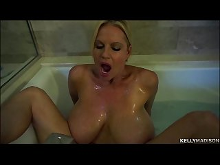 Big Titty MILF Kelly Madison Takes Her Tatas For A Bath